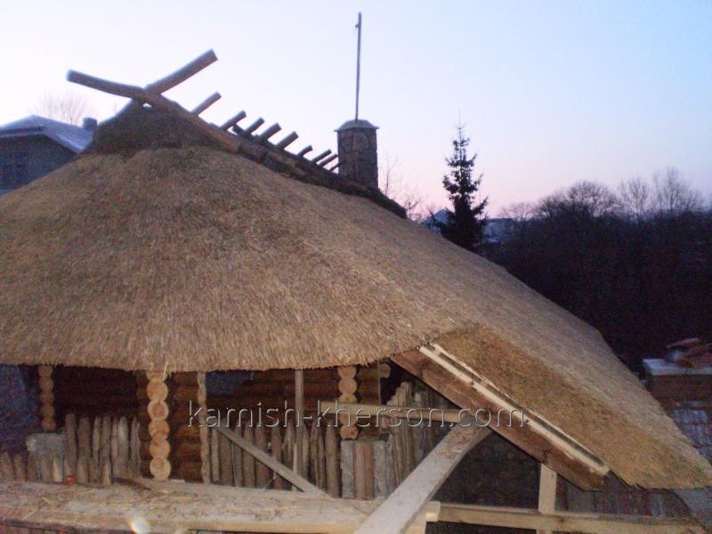 Камышовая крыша 1280 x 960