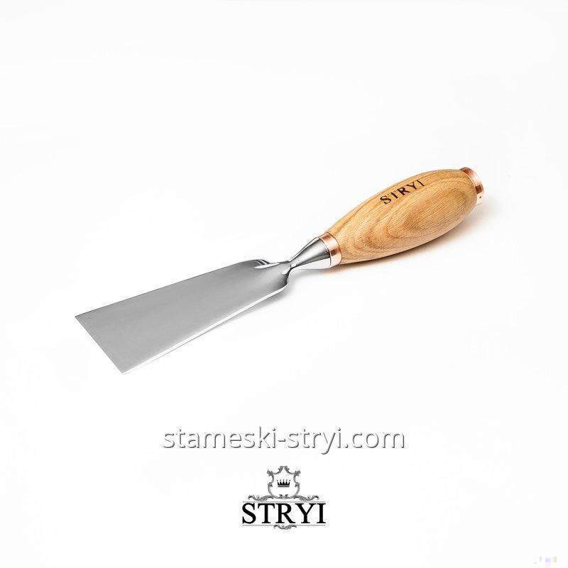 Стамеска плоская для объемных ударных работ по дереву STRYI, 50 мм, арт.60150