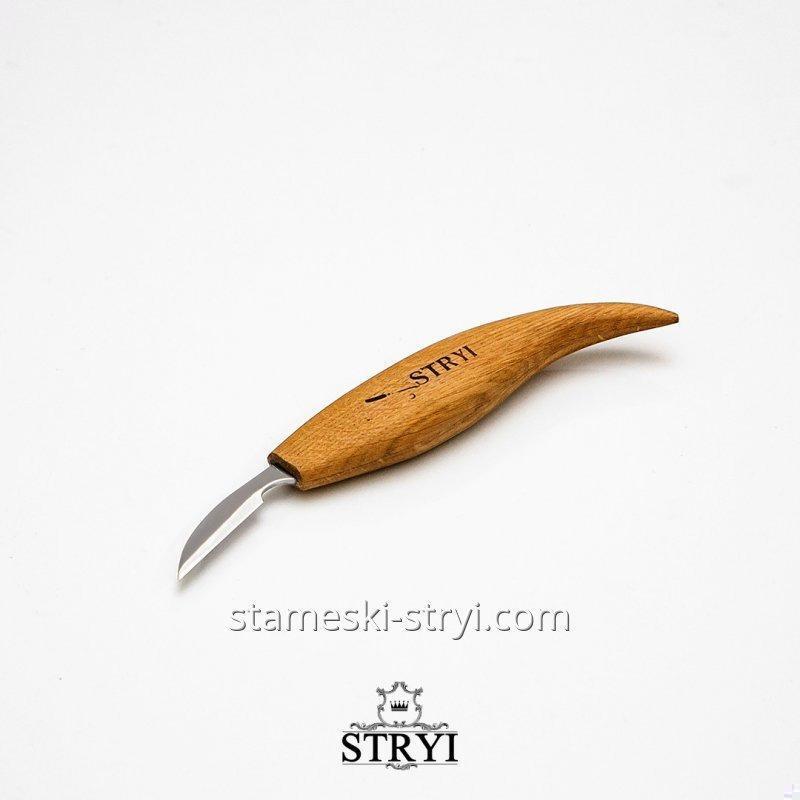 Нож для резьбы, детальных, мелких работ по дереву от STRYI, 38 мм, арт.83810