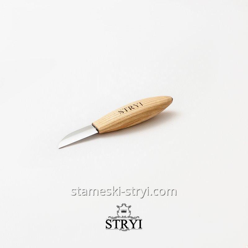 Стамеска нож Богородский для резьбы по дереву, 50 мм, арт.85015