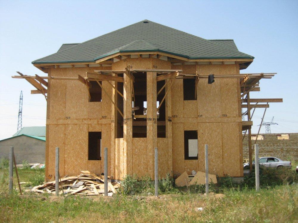 Купить Строительство домов из SIP - панелей