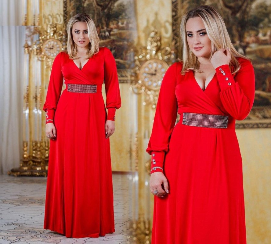 """Купить Стильное платье в пол для пышных дам """" Сказка """" Dress Code"""