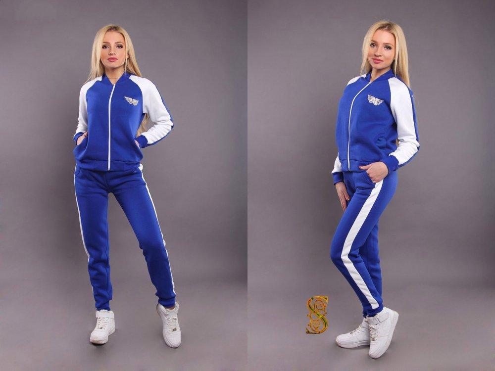 Купить Стильный утепленный спортивный костюм