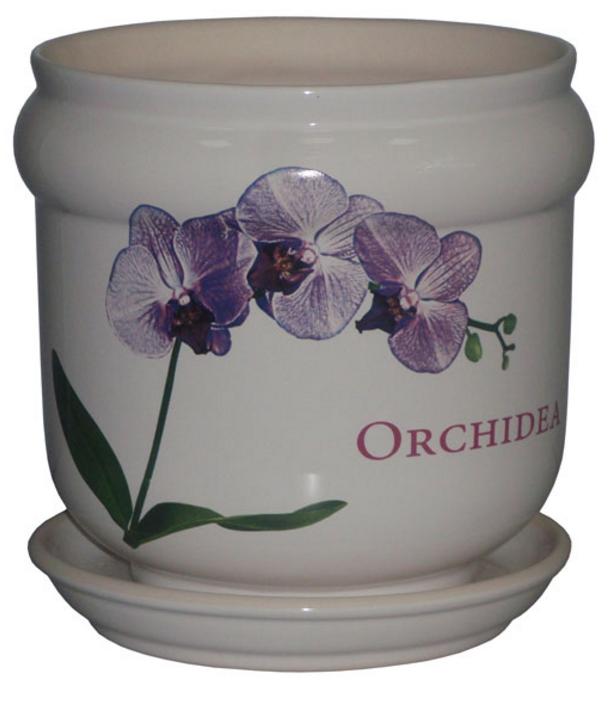 Купить Вазон Бриз белый orhidea