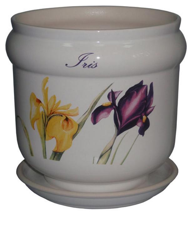 Купить Вазон Бриз белый iris