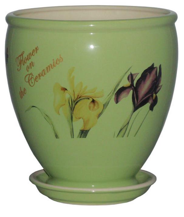Купить Вазон Бутон салатный iris
