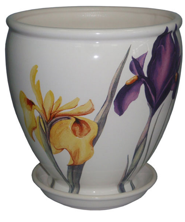 Купить Вазон Бутон белый iris