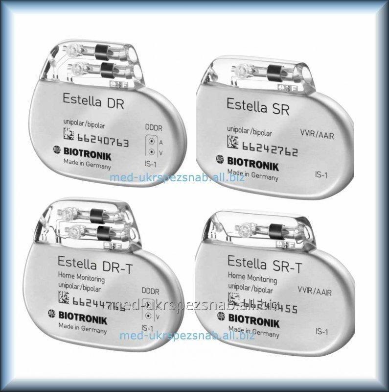 Двухкамерный электрокардиостимулятор Biotronik Estella DR-T c частотной адаптацией с функцией HomeMonitoring