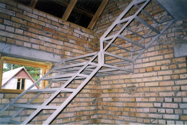 винтовые лестницы из металла фото