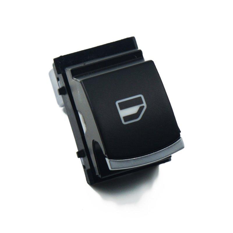 Купить Кнопка стеклоподьемника Xром 1х VW Caddy/Golf 5/Jetta 5/Passat B6/CC/Tiguan/Touran
