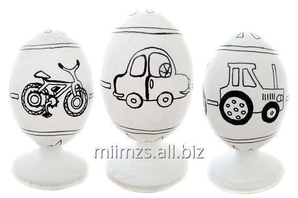 Купить Яйцо деревянное DIY Р - 116