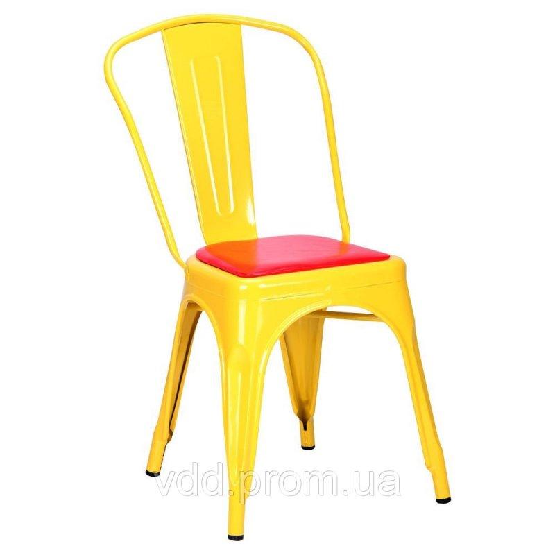 Купить Стул металлический желтый АФ-513758