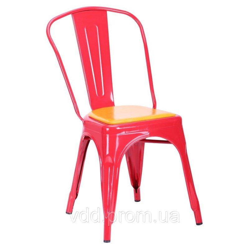 Купить Стул металлический красный АФ-513757