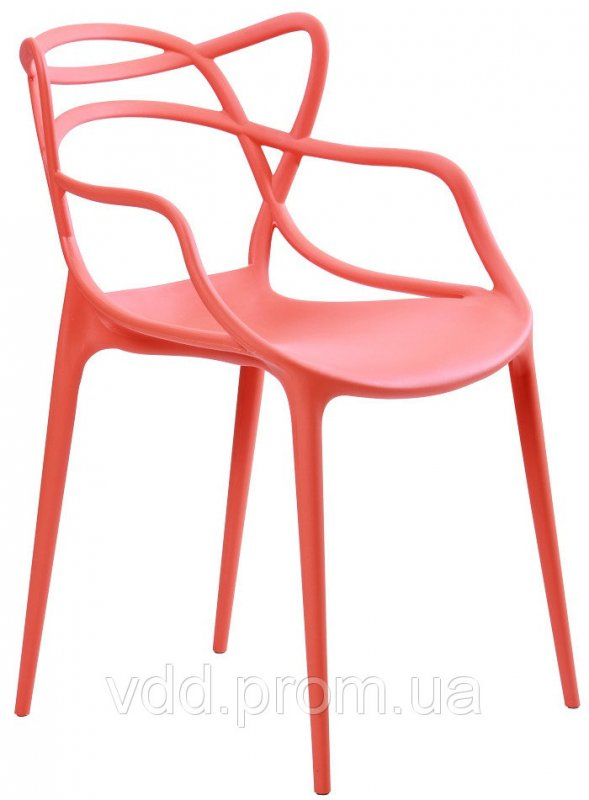 Купить Стул пластиковый оранжевый АФ-512010