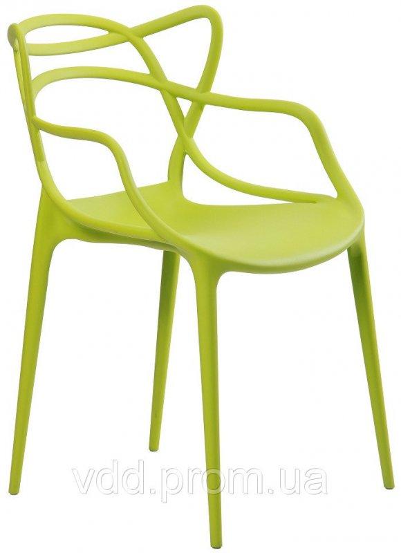 Купить Стул пластиковый зеленый АФ-512009
