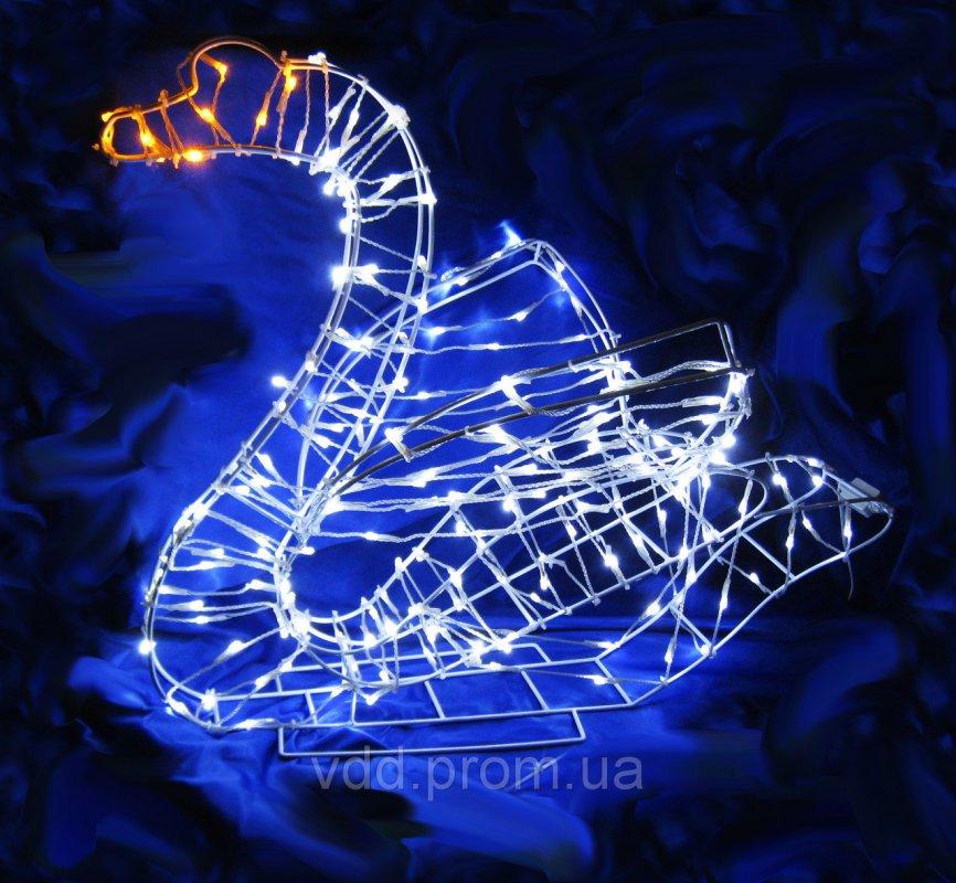 Купить Аренда светящихся фигур лебедь
