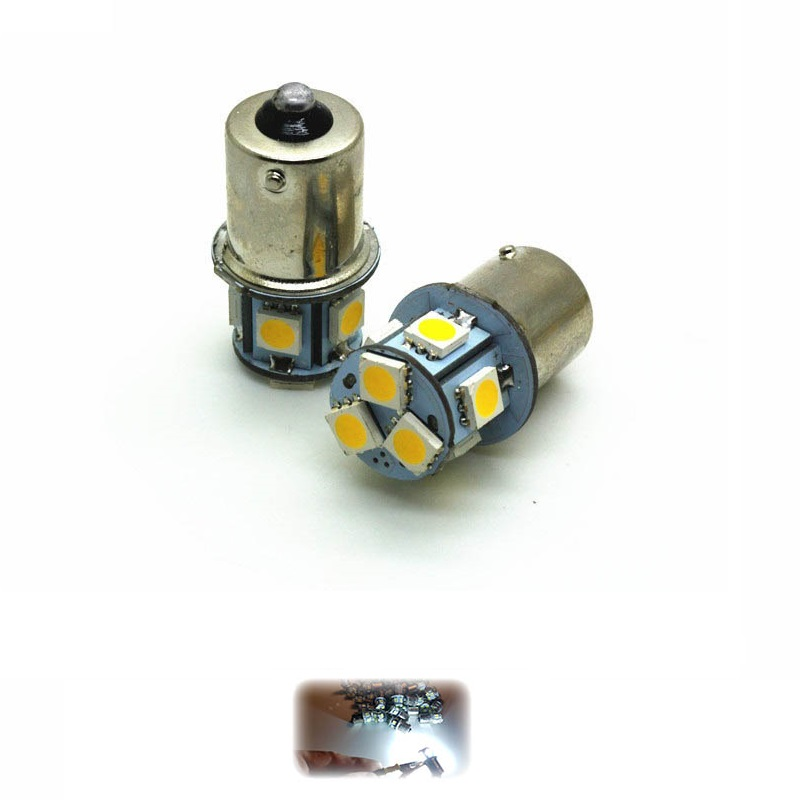 Купить Led лампа 1156 P21W BA15S 8SMD 5050 (Белый)
