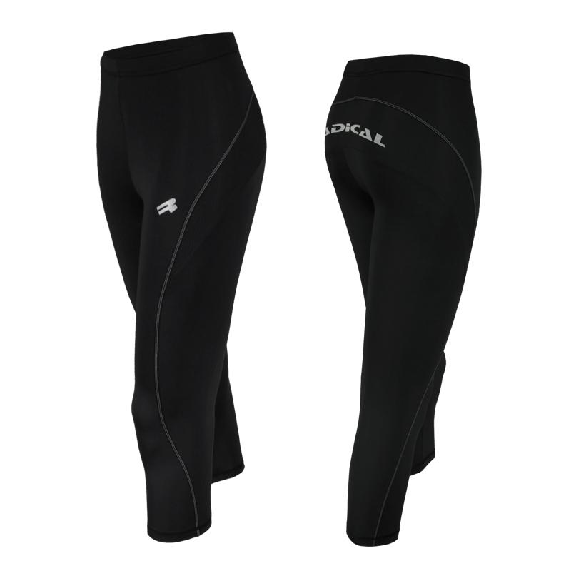 Спортивные штаны женские Radical Flexy 3/4 черные