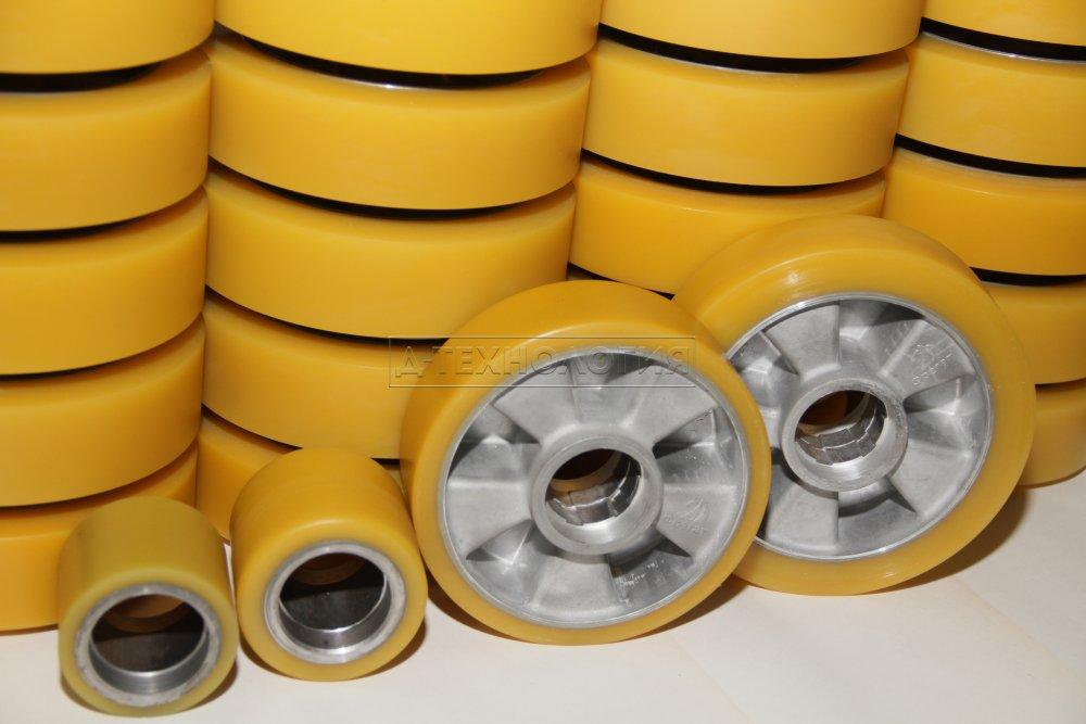 Колеса,ролики, бандажи (покрытие полиуретаном)