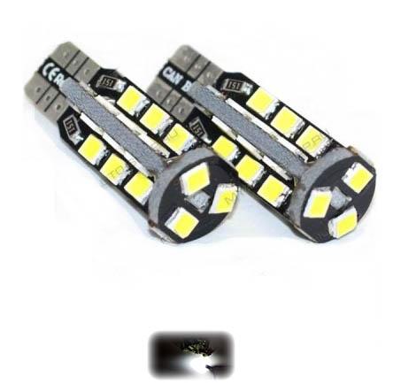 Купить Лед лампы T10 W5W 27SMD 2835 Canbus (Белый)