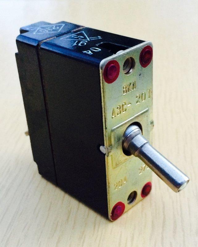 Автомат защиты сети АЗС-20Т