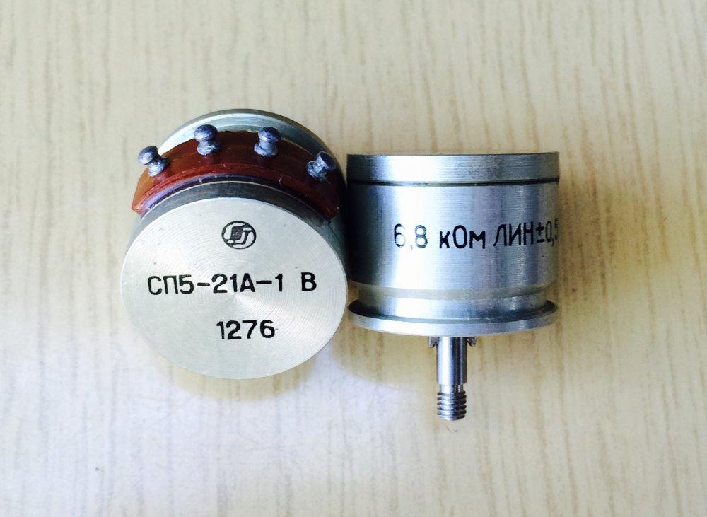 Купить Резистор переменный СП5-21А-1В 6,8 кОм