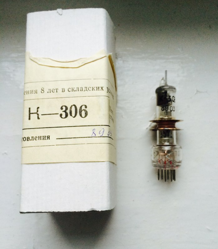 Клистрон К-306