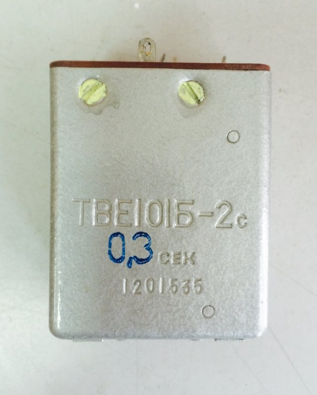 Time relays TVE-101B-2C 0.3 seconds