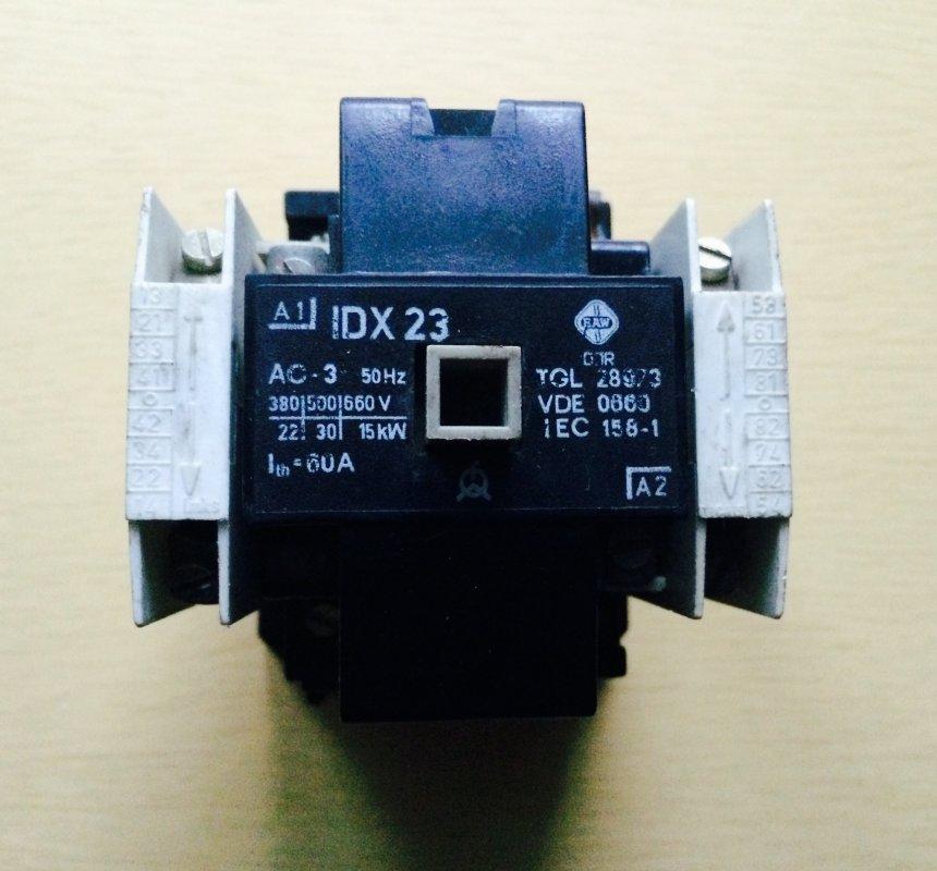 Купить Контактор IDX-23 60А, S-IDX-23 60А