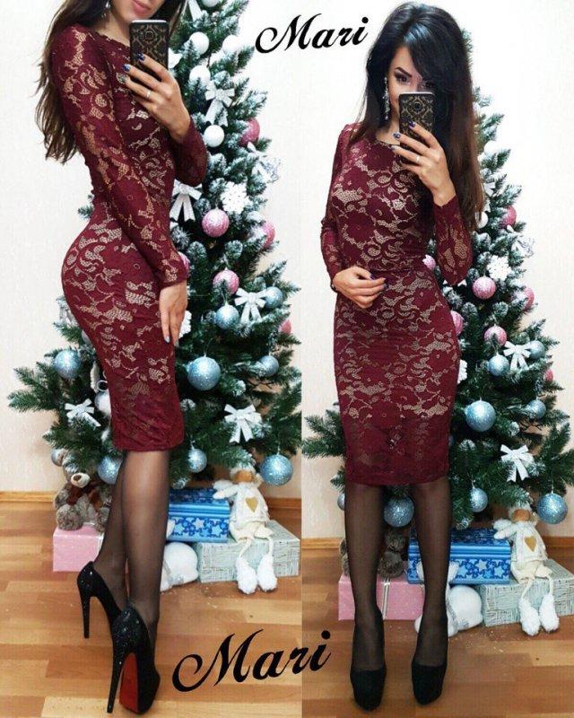 """Купить Стильное молодежное платье мини """" Гипюр """" Dress Code"""