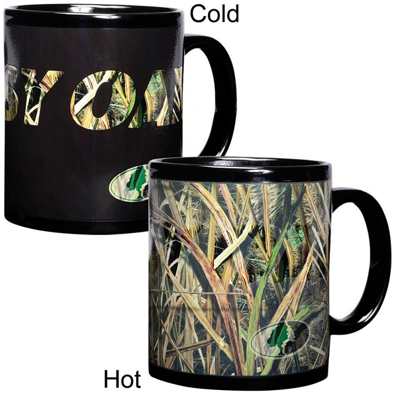 Чашка камуфляжная Mossy Oak Duck Camo Coffee Mug Changing