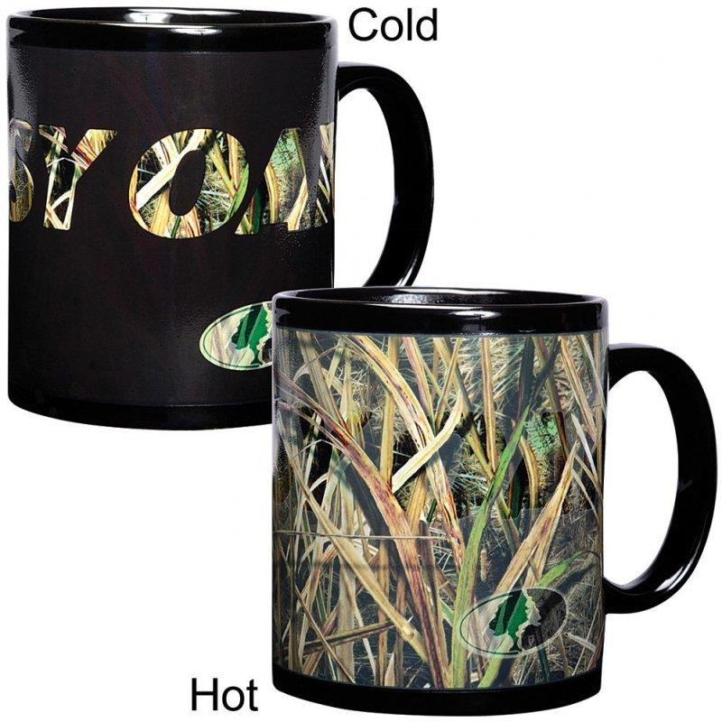 Чашка камуфляжная Mossy Oak Duck Camo Coffee Mug Changing