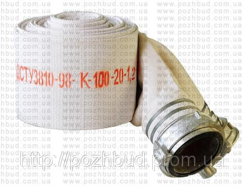 Купить Рукав пожарный Д-100 (т) с ГРВ-100 (Укр.)
