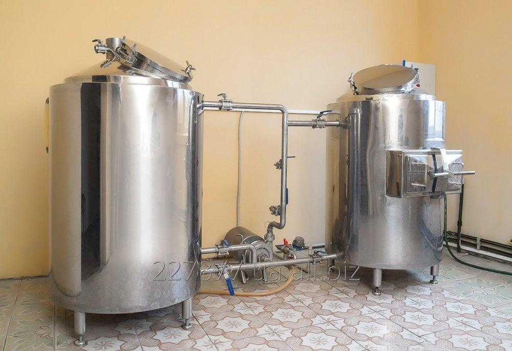 Мини пивоварня для кафе купить как сделать самогонный аппарат своими руками из фляги