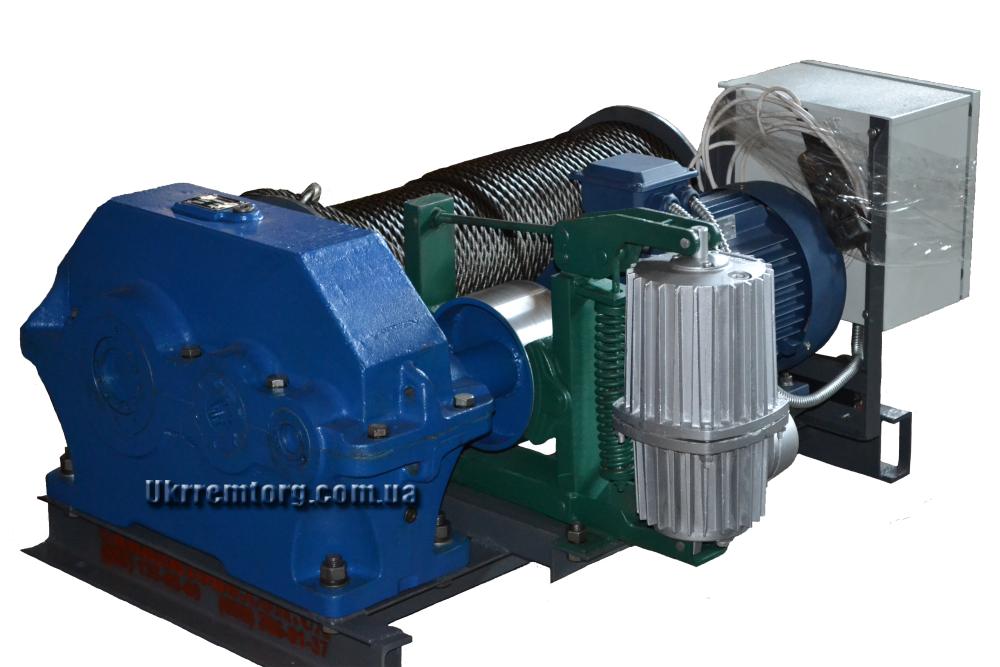 Лебедка электрическая монтажная ЛМ-2 (2т/2000кг)