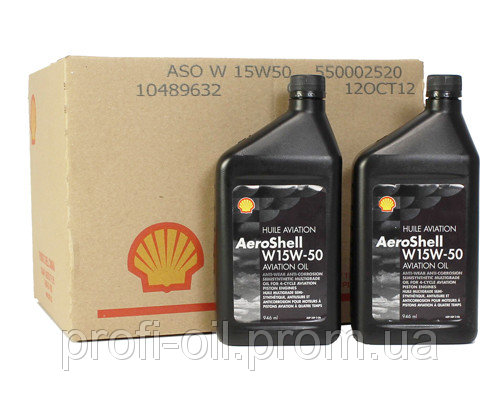 Масло AeroShell Oil 15W-50