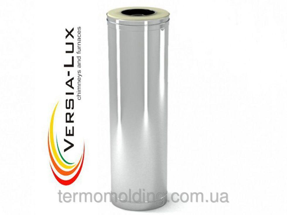 Купить Труба из нержавеющей стали с теплоизоляцией в нержавеющем кожухе, или оцинкованном кожухе Versia-Lux