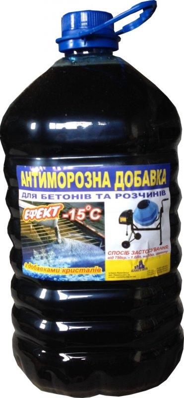Антиморозная добавка (пластификатор) в раствор
