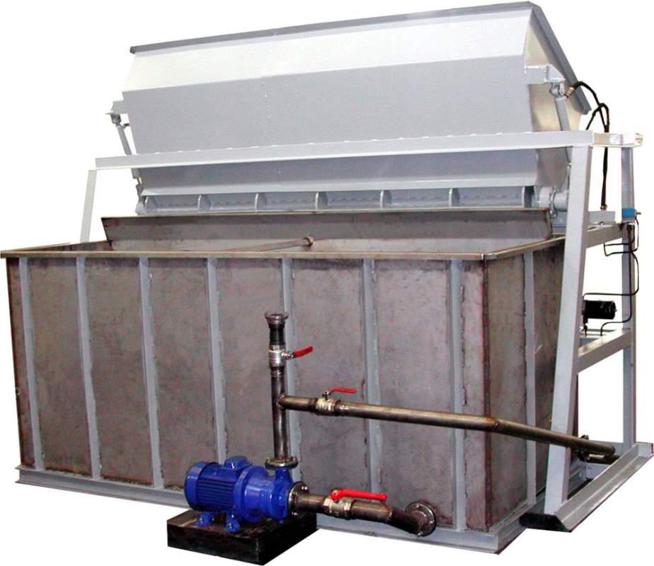 Установка для приготовления солевого раствора. Средства механизации для зимнего содержания дорог