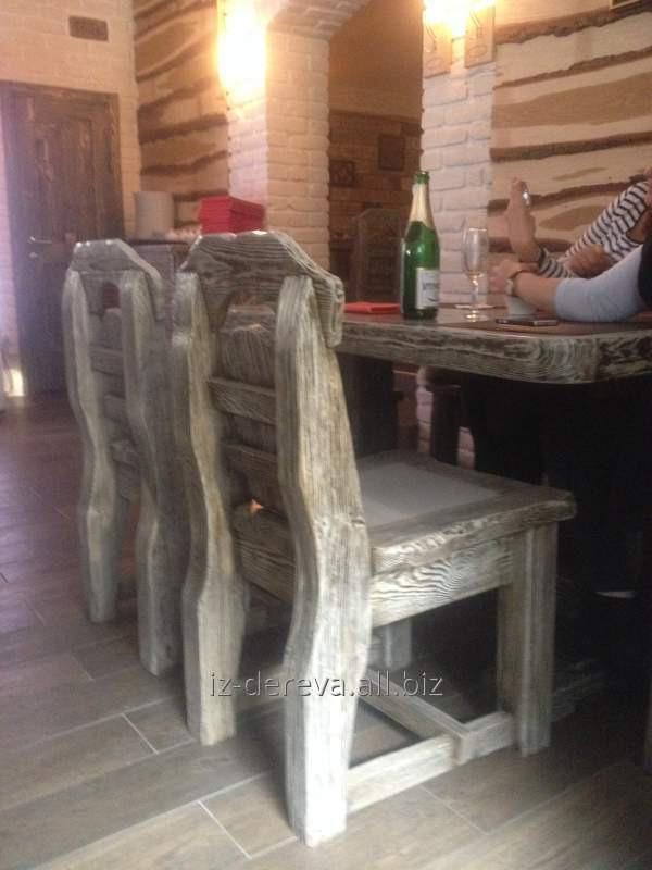 Мебель под старину, брошыровка мебели, мебель для баров, ресторанов под заказ