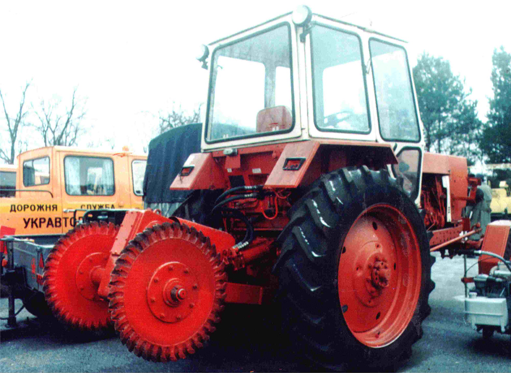 Buy Mills disk on the YuMZ, MTZ, T-150 tractor