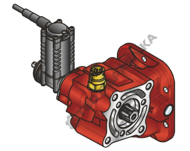 Купить Коробка отбора мощности Hydrocar 23Z2
