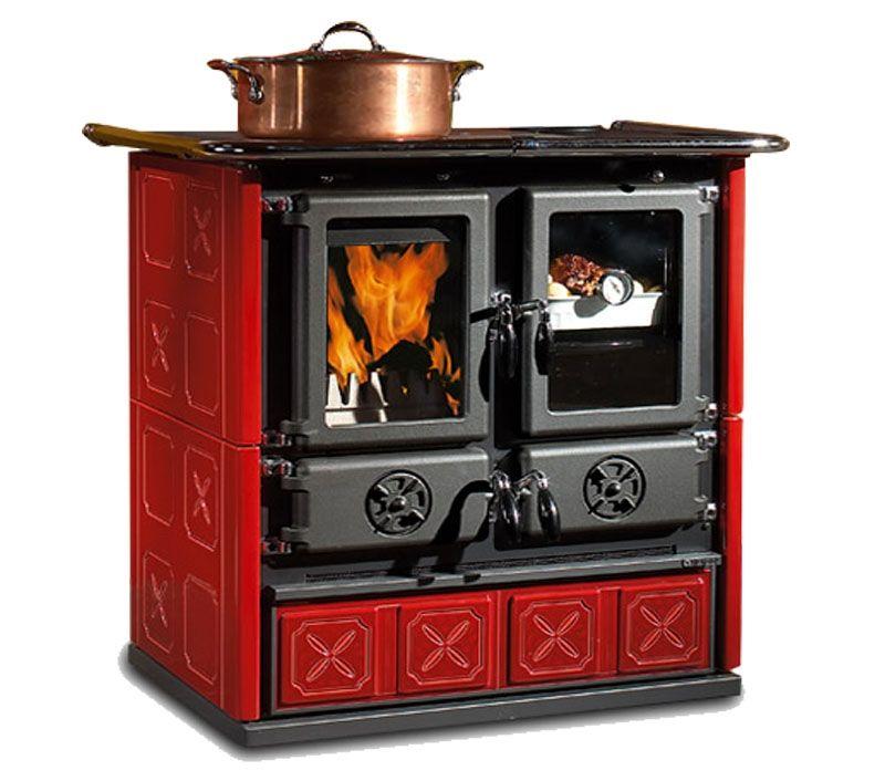 Купить Печь отопительная варочная (керамо-чугунная) Nordica Rosetta