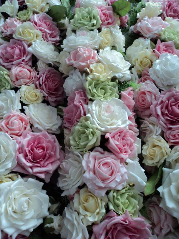 Искусственные цветы купить украина