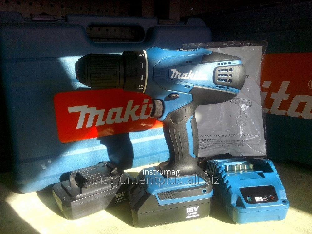 Купить Аккумуляторный шуруповерт MAKITA DF457DWE Копия