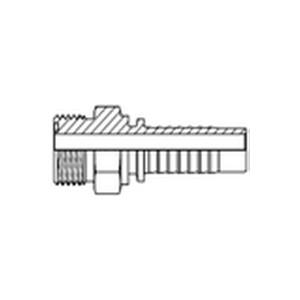 Стандартный фитинг тип Z Резьба UNF, плоское уплотнение