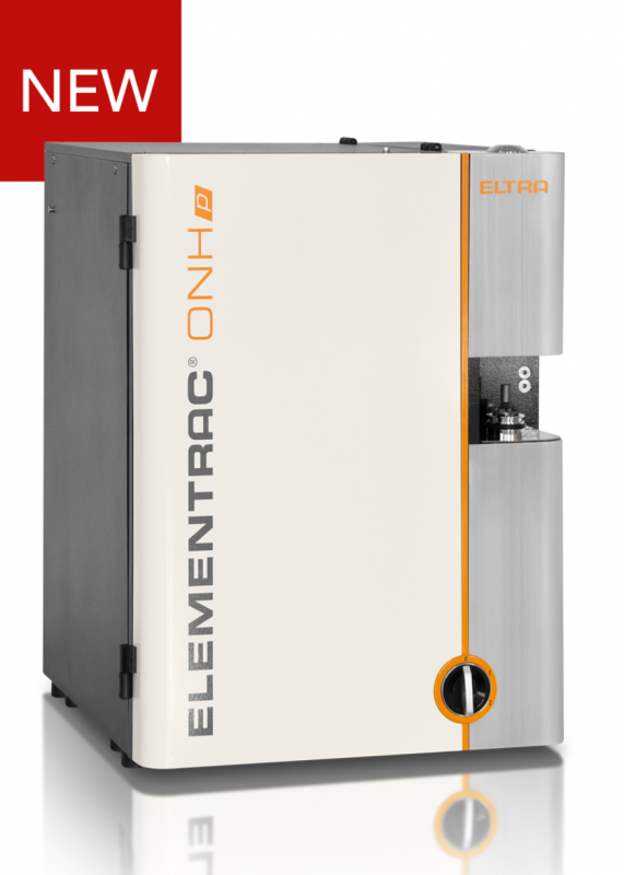 Gas analyzer of ELEMENTRAC ONH-p oxygen / nitrogen / hydrogen