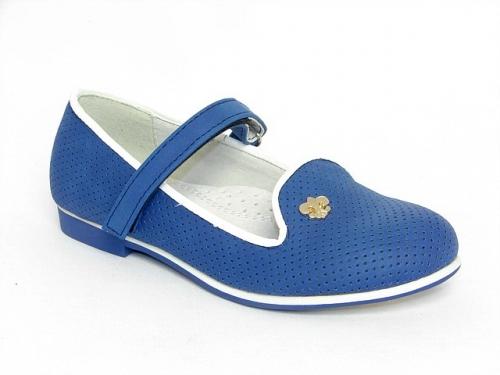 Купить Туфли детские Clibee: D-325 синий.