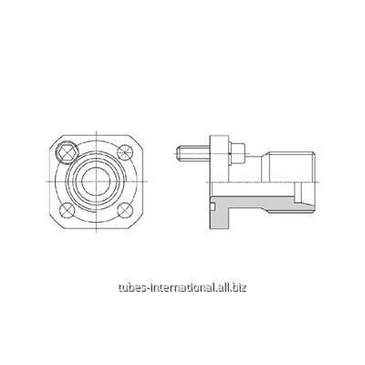 Фланцевое соединение 4-отверстия / DIN 2353