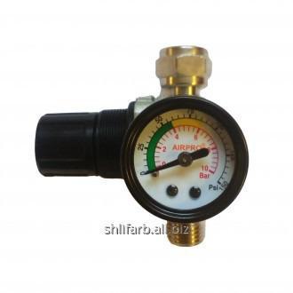 Регулятор давления (редуктор) с манометром для краскопультов Air Pro R11